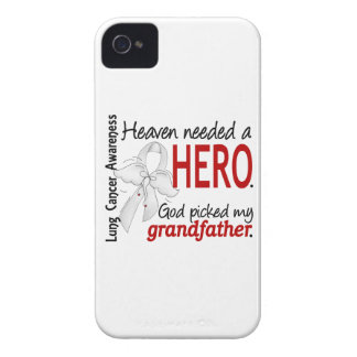 Heaven Needed a Hero Grandfather Lung Cancer iPhone 4 Cover