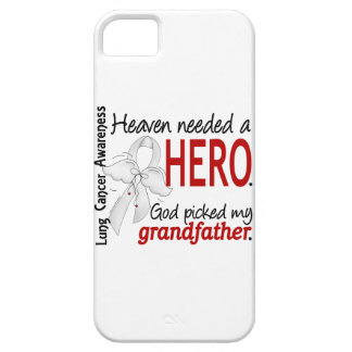 Heaven Needed a Hero Grandfather Lung Cancer iPhone SE/5/5s Case