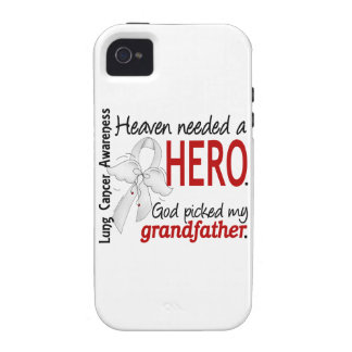 Heaven Needed a Hero Grandfather Lung Cancer Vibe iPhone 4 Case
