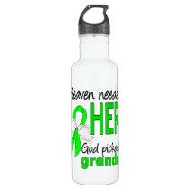 Heaven Needed a Hero Grandma Lymphoma Water Bottle