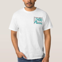 Heaven Needed a Hero Grandma Ovarian Cancer T-Shirt