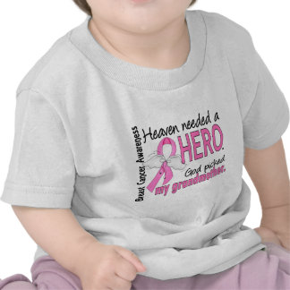 Heaven Needed A Hero Grandmother Breast Cancer Tees