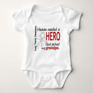 Heaven Needed A Hero Grandpa Lung Cancer Infant Creeper