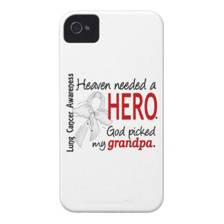 Heaven Needed A Hero Grandpa Lung Cancer iPhone 4 Case-Mate Cases