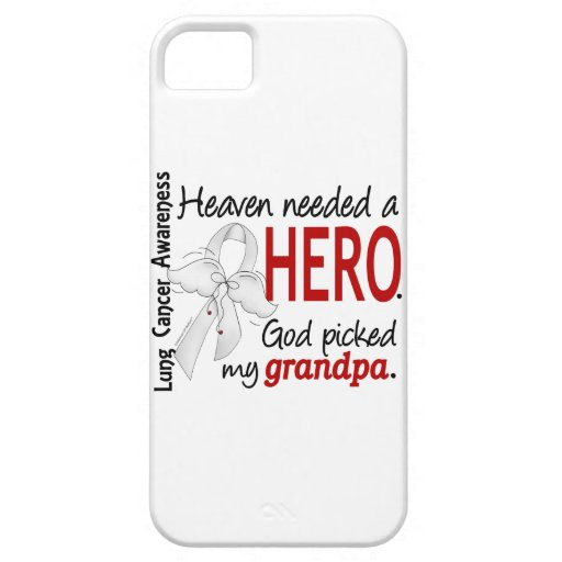 Heaven Needed A Hero Grandpa Lung Cancer iPhone SE/5/5s Case