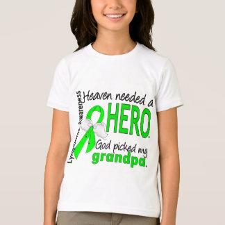 Heaven Needed a Hero Grandpa Lymphoma T-Shirt