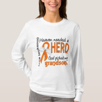 Heaven Needed a Hero Grandson Leukemia T-Shirt