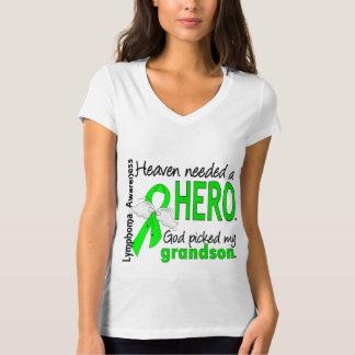 Heaven Needed a Hero Grandson Lymphoma T-Shirt