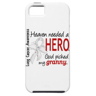 Heaven Needed A Hero Granny Lung Cancer iPhone SE/5/5s Case
