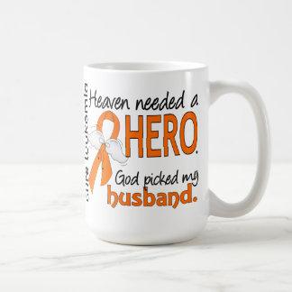 Heaven Needed a Hero Husband Leukemia Classic White Coffee Mug