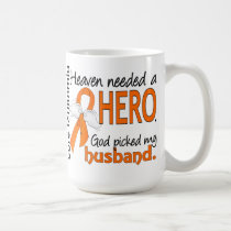 Heaven Needed a Hero Husband Leukemia Coffee Mug