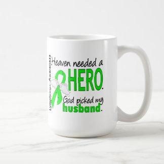 Heaven Needed a Hero Husband Lymphoma Coffee Mug