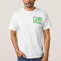 Heaven Needed a Hero Husband Lymphoma T-Shirt