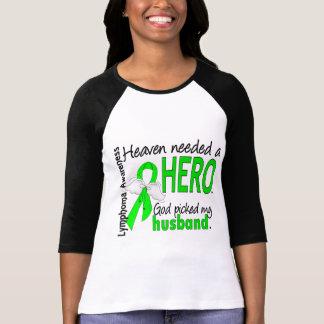 Heaven Needed a Hero Husband Lymphoma Tee Shirts