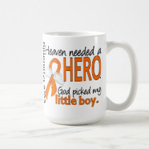 Heaven Needed a Hero Little Boy Leukemia Coffee Mug