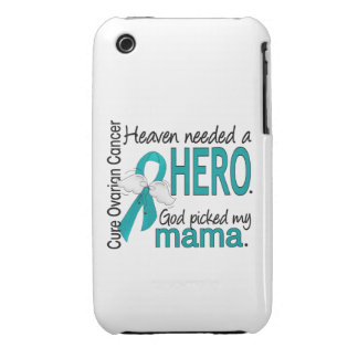 Heaven Needed a Hero Mama Ovarian Cancer iPhone 3 Covers