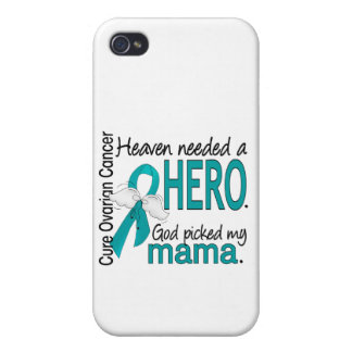 Heaven Needed a Hero Mama Ovarian Cancer iPhone 4 Covers
