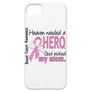 Heaven Needed A Hero Mom Breast Cancer iPhone SE/5/5s Case
