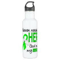 Heaven Needed a Hero Mom Lymphoma Stainless Steel Water Bottle