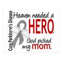 Heaven Needed a Hero Mom Parkinson's Postcard