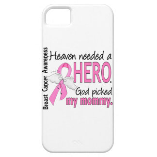 Heaven Needed A Hero Mommy Breast Cancer iPhone SE/5/5s Case