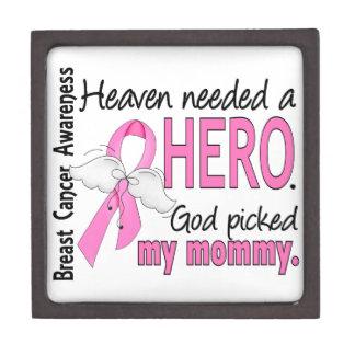 Heaven Needed A Hero Mommy Breast Cancer Keepsake Box