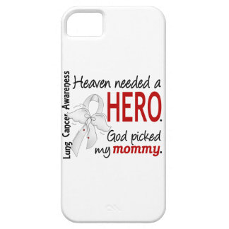 Heaven Needed A Hero Mommy Lung Cancer iPhone SE/5/5s Case