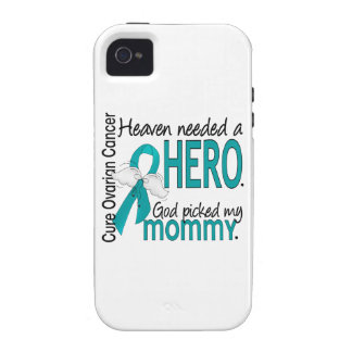 Heaven Needed a Hero Mommy Ovarian Cancer iPhone 4/4S Covers