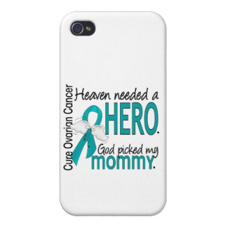 Heaven Needed a Hero Mommy Ovarian Cancer iPhone 4/4S Case