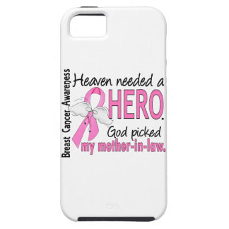 Heaven Needed A Hero Mother-In-Law Breast Cancer iPhone SE/5/5s Case