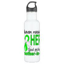 Heaven Needed a Hero Mother-In-Law Lymphoma Water Bottle