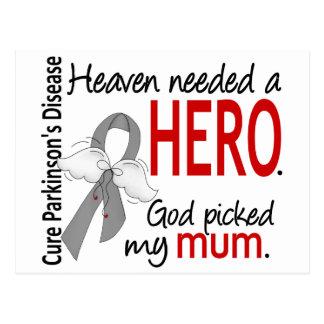 Heaven Needed a Hero Mum Parkinson's Postcard