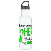 Heaven Needed a Hero Nana Lymphoma Stainless Steel Water Bottle