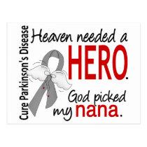 Heaven Needed a Hero Nana Parkinson's Postcard