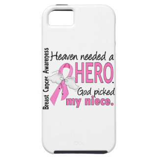 Heaven Needed A Hero Niece Breast Cancer iPhone SE/5/5s Case