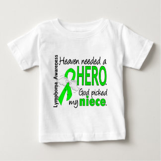 Heaven Needed a Hero Niece Lymphoma Baby T-Shirt