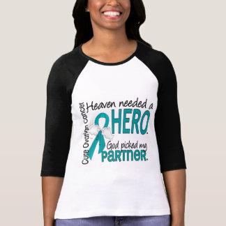 Heaven Needed a Hero Partner Ovarian Cancer T-shirts