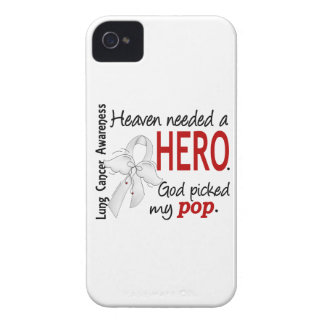 Heaven Needed A Hero Pop Lung Cancer Case-Mate iPhone 4 Case