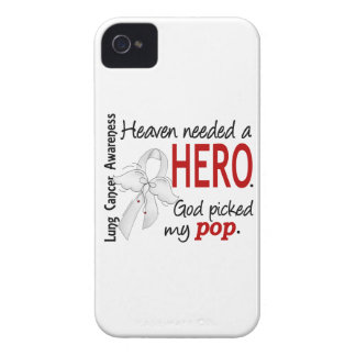 Heaven Needed A Hero Pop Lung Cancer iPhone 4 Case-Mate Cases
