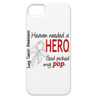 Heaven Needed A Hero Pop Lung Cancer iPhone SE/5/5s Case