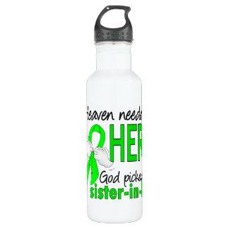 Heaven Needed a Hero Sister-In-Law Lymphoma Water Bottle