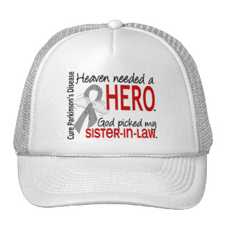 Heaven Needed a Hero Sister-In-Law Parkinson's Mesh Hats