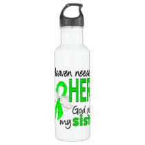 Heaven Needed a Hero Sister Lymphoma Stainless Steel Water Bottle