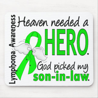Heaven Needed a Hero Son-In-Law Lymphoma Mouse Pad