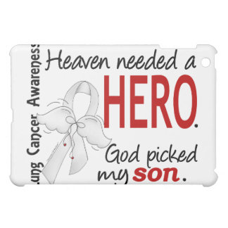 Heaven Needed A Hero Son Lung Cancer iPad Mini Cover