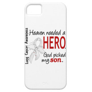 Heaven Needed A Hero Son Lung Cancer iPhone SE/5/5s Case