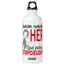 Heaven Needed a Hero Stepdaughter Parkinson's Water Bottle