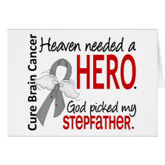 Heaven Needed a Hero Stepfather Cards