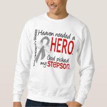 Heaven Needed a Hero Stepson Parkinson's Sweatshirt