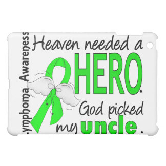 Heaven Needed a Hero Uncle Lymphoma iPad Mini Covers
